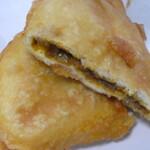 おいしいパン屋さん - カレー味の天ぷらパン
