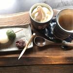 Cafe&Gallery彩花 - 料理写真:お団子セット