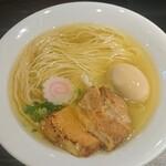 麺や 蒼 - 料理写真:鳥そば(バラ焙りチャーシュー)