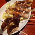 漁師茶屋 桜島 - 焼き鳥