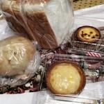 ハートブレッド アンティーク - 食パンと…他は全部チーズ絡みでした(いつもこうなる)
