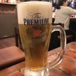 パリパリ - 生ビールスタート