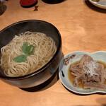有馬土山人 はなれ - 牛しぐれ煮そばd(゜.-^*)/¥1700円