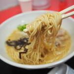 山嵐 - 麺アップ
