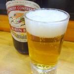 宝寿司 - 中瓶ビール ※クラシックラガー