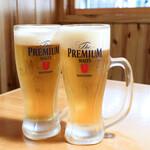 本格職人にぎり や台ずし - 生ビール
