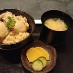 創作料理 櫻 - 牡蠣めし&しじみ汁