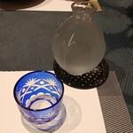創作料理 櫻 - 冷酒の図