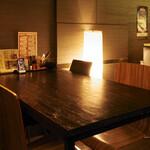 串かつ・炭火焼鳥・鶏ちゃんこ鍋 TSURUGI - 4名テーブル