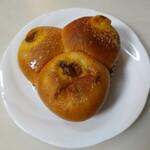 パン食菜館 トレトゥール - 3色カレーパン(250円)