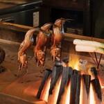 蔵の庄 - いろり焼きは炎ではなく熱で焼くのでふっくらと仕上がります