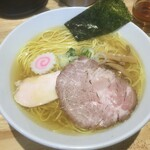 ふる川 - 塩ラーメン大盛り850円