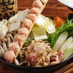 串かつ・炭火焼鳥・鶏ちゃんこ鍋 TSURUGI - 鶏ちゃんこ鍋