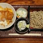そば屋 きしち - 料理写真:かつ丼セット ¥830