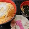 富士そば - 料理写真:カツ丼