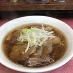 中華食堂 桂苑 - チャーシューメン(数量限定)しょうゆ¥820