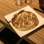 三田菜 - パイ生地のピザ