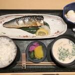 襷 - ・塩さば焼き定食 1,100円(税込)