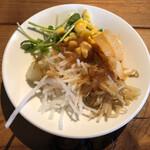 奈良食堂 - サラダバーのサラダ