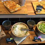奈良食堂 - サラダバー