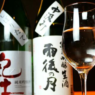 ビール、日本酒、焼酎等◎料理に合わせる充実のお値打ち美酒!