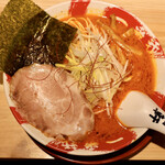 長浜豚骨ラーメン 一番軒 - 赤豚骨ラーメン