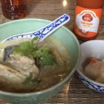 ヤマネコ - 今週のライスヌードル(ナスと鶏肉のグリーンカレー)