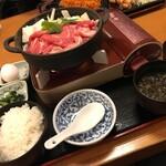 和食れすとらん 天狗 - 特選牛すき焼き鍋