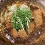 124887799 - チキン味噌かつ煮定食【2020.1】