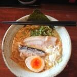124888476 - 鶏白湯ラーメン海(太麺)