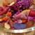 ソース06 - 料理写真:ビーツ、ザクロ、紫キャベツ、トレビス、パプリカ、りんご、トマト、紫人参、シャドークイーン、ザクロドレッシング(2020年2月)
