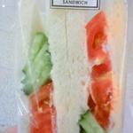 ブロッサム&ブーケ - 野菜サンドイッチ