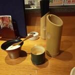 仙台旬風 冨和利 - お通しとお酒