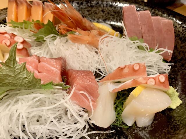 魚と創作料理 だん 本店の料理の写真