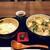 ひろひろ - 料理写真:牡蠣うどん1100円に、ミニ玉子丼300円を付けました(2020.2.5)