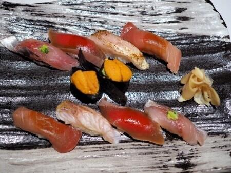 鮨 みや川の料理の写真