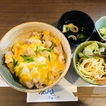 dasiyaふぁ~る - 【ランチ】親子丼セット