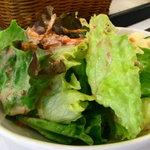 スイートガーデン&cafeリュン - ハンバーグセットのサラダ