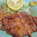 とんかつ ブウ亭 - ロース生姜焼き