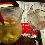 12490293 - サングリア 約2杯分 860円