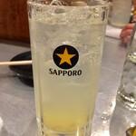 もつ焼きばん - レモンサワー  120円