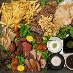 124909193 - ◆肉ファミリア盛り 3,500円(税別)