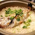 旬菜ダイニング 新 - のどぐろの炊き込みご飯