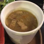 イベリコ豚・ワイン居酒屋 ドンファン - イベリコ豚の豚汁