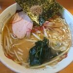 ラーメンねるら - 濃厚魚介味噌ラーメン(750円)