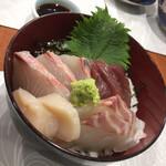 Jougaiichibashokudou - ワンコイン海鮮丼