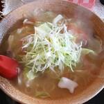 レストラン 鈴屋 - 野菜ラーメン