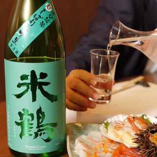 激選した3種類の日本酒★