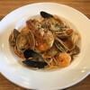 le climat - 料理写真:海の幸のトマトソース(ペスカトーレ)