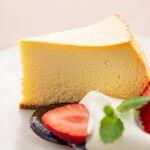 CRISTA - レモンマスカルポーネ チーズケーキ ブルーベリーソース